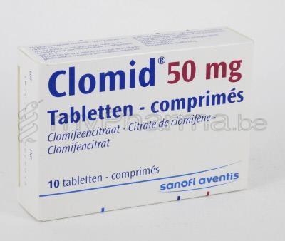 Medicament clomid 50 mg
