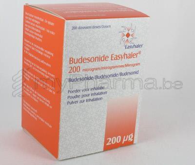 Pharmacie Parent Sprl Budesonide Easyhaler 200 Mcg 200 Doses