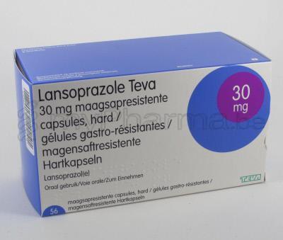 Pharmacie Parent SPRL : Substances actives - L - Lansoprazole